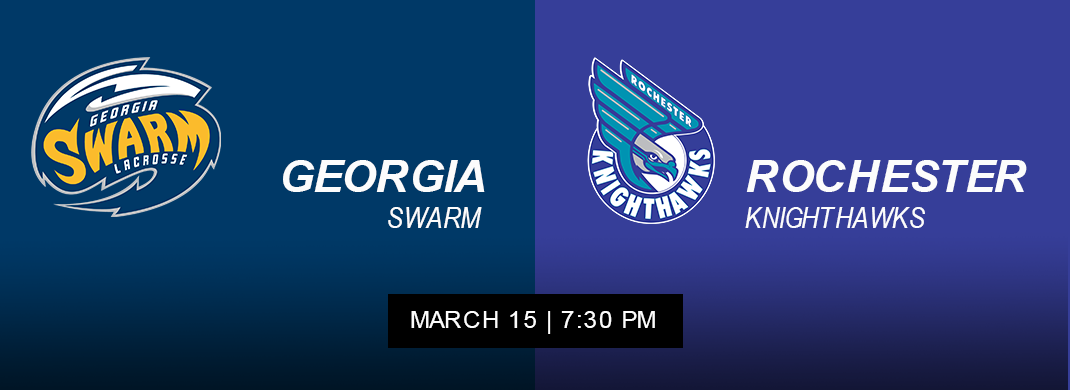 Knighthawks vs Swarm