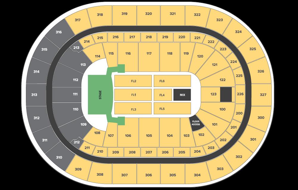 Celine Dion floor plan
