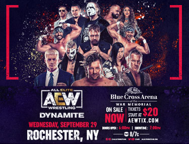 All Elite Wrestling Dynamite list image
