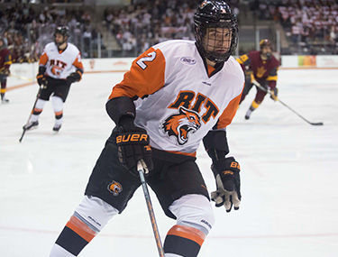 RIT Men's Hockey Brick City Homecoming Game large